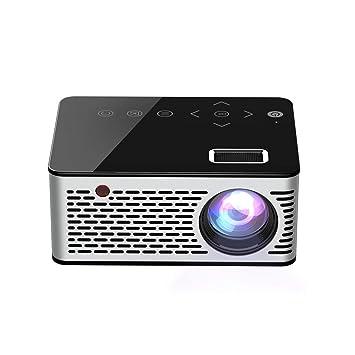 CN-ZX Proyector de Video LED, tecnología LCD Compatible Mini ...