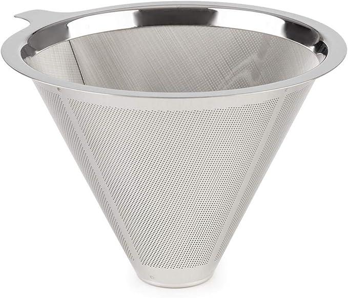 Klarstein Perfect Brew - Filtro de café, Doble filtro, Estructura ultrafina, Accesorio para la cafetera Perfect Brew, Recambio, Acero inoxidable: Amazon.es: Hogar