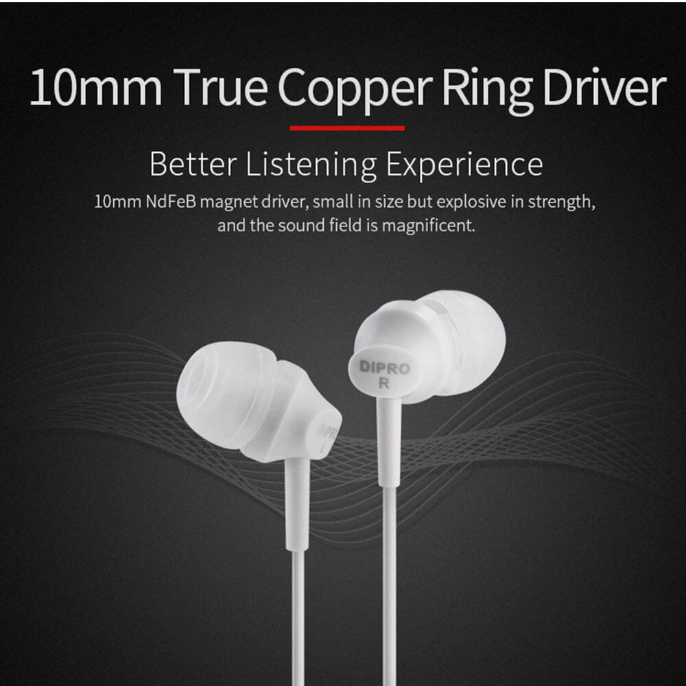 e6c8a90a6d6479 Amazon.com: ErgoFit in-Ear Earbud Headphones Crystal Clear Sound, Ergonomic  Comfort-Fit Earphones: Cell Phones & Accessories