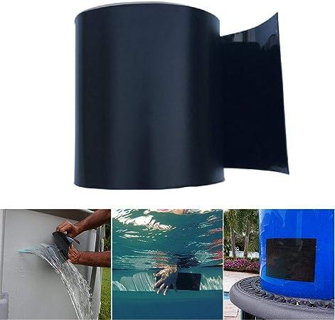 Volwco Cinta de reparación Impermeable, Sello de Fugas de PVC y Cinta autoadhesiva de reparación, Herramienta de Cinta de fijación de Sellado para tuberías de Emergencia y Fugas de Manguera de Agua: