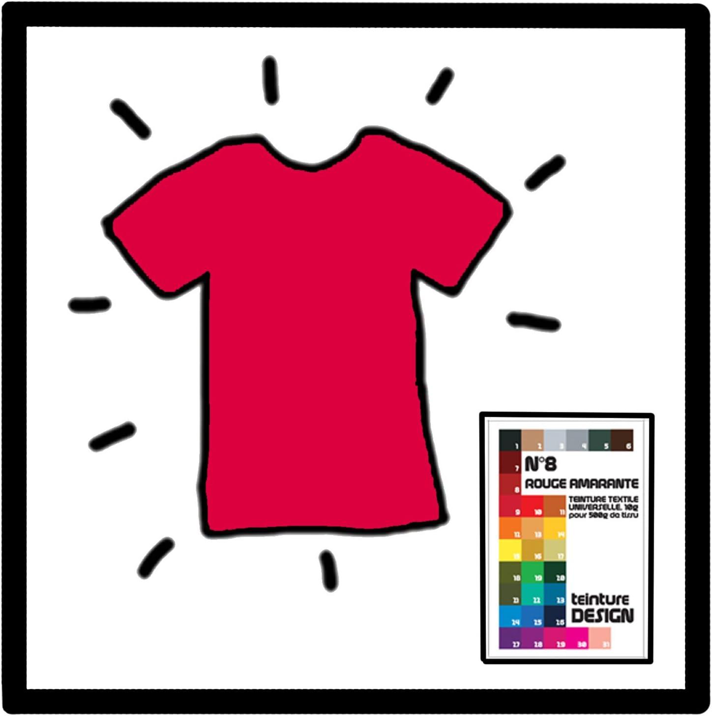Tinte textil, color amaranto: Amazon.es: Bricolaje y herramientas