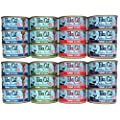 Tiki Cat Aloha Friends Grain Free Wet Cat Food Variety Pack 4 Flavors 3 Ounces Each 24 Pack