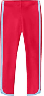 product image for City Threads Girls' Trim Leggings 100% Cotton Ankle Length - Play School Uniform Fun - Made in USA