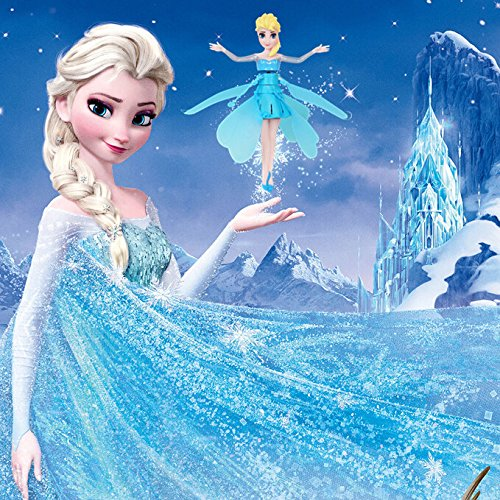 Lvjing 2014 New Arrival Disney Frozen Flying Fairy Barbie