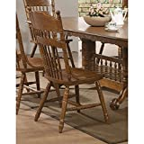 Coaster Home Furnishings 104272 Country Dining Chair, Oak, Set of 2
