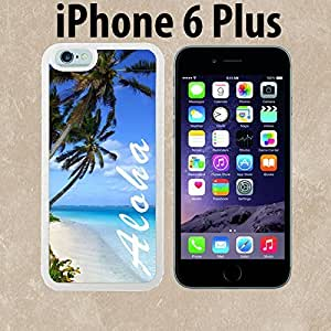 Aloha Hawaiian Beach Custom made Case or Cover skin FOR iPhone 6 Plus White Case phonease for iphone iphone case lifeproof