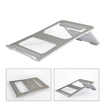 Careshine Soporte portátil ligero para portátil, plegable y portátil, de aluminio, para portátil