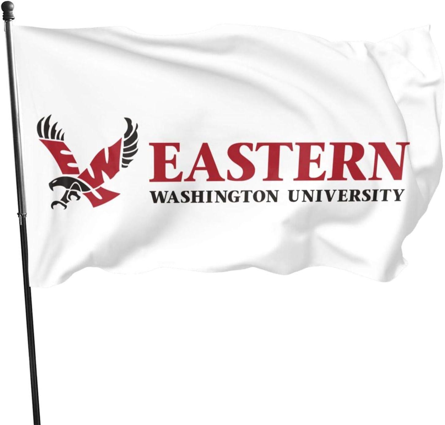 Ali Yee Eastern Washington University Logo Flag 3x5 Outdoor Indoor Banner Flag House Garden Decoration Sign
