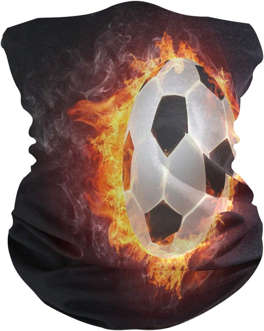 BIGJOKE - Máscara de fútbol con protección UV para la cabeza, pañuelo, lavable, para el cuello, para mujeres, hombres, actividades al aire libre, actividades al aire libre, yoga, polvo