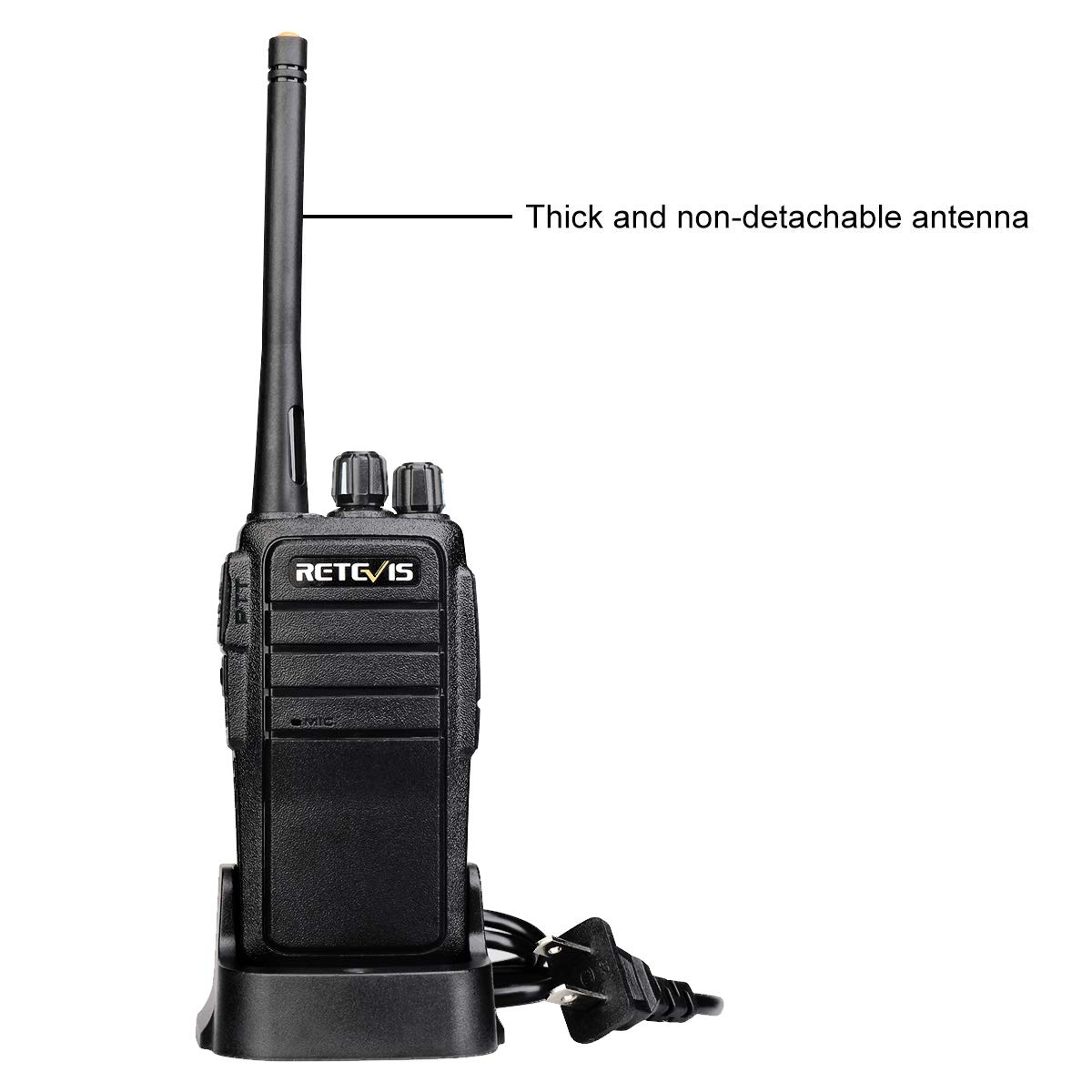 4 Pack Retevis RT21 Walkie Talkies Rechargeable 16 Channels FRS License-Free 2 Way Radios