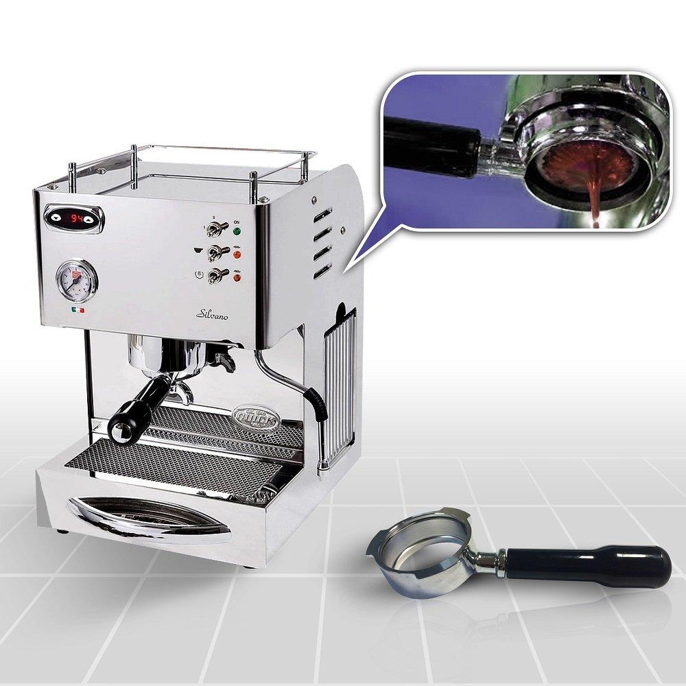 Dualboiler-Espresso Siebträgermaschine Quickmilll 04005 Silvano PID