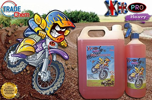 Trade Chemicals 5L +1L XR Pro Heavy - Bike Cleaner - Motorcycle - Motocross - Quad - Gets Muc Off fast!