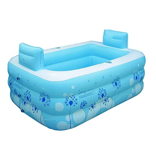 SUN LL-bañeras Bañera Inflable de plástico Pareja Adultos ...