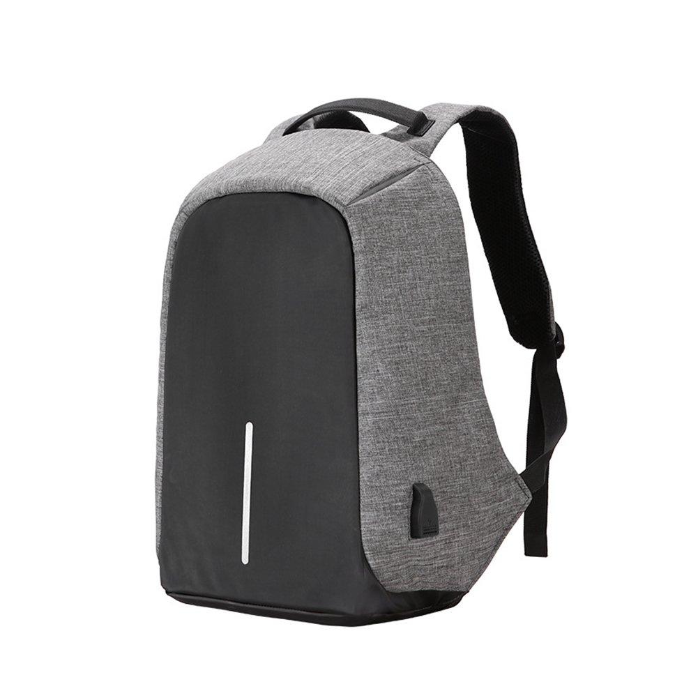 Jeerui Mochila para portá til, 16 en bolsa de ordenador de viaje Mochila antirrobo para computadora con puerto de carga USB, Mochila escolar impermeable para mujeres y hombres