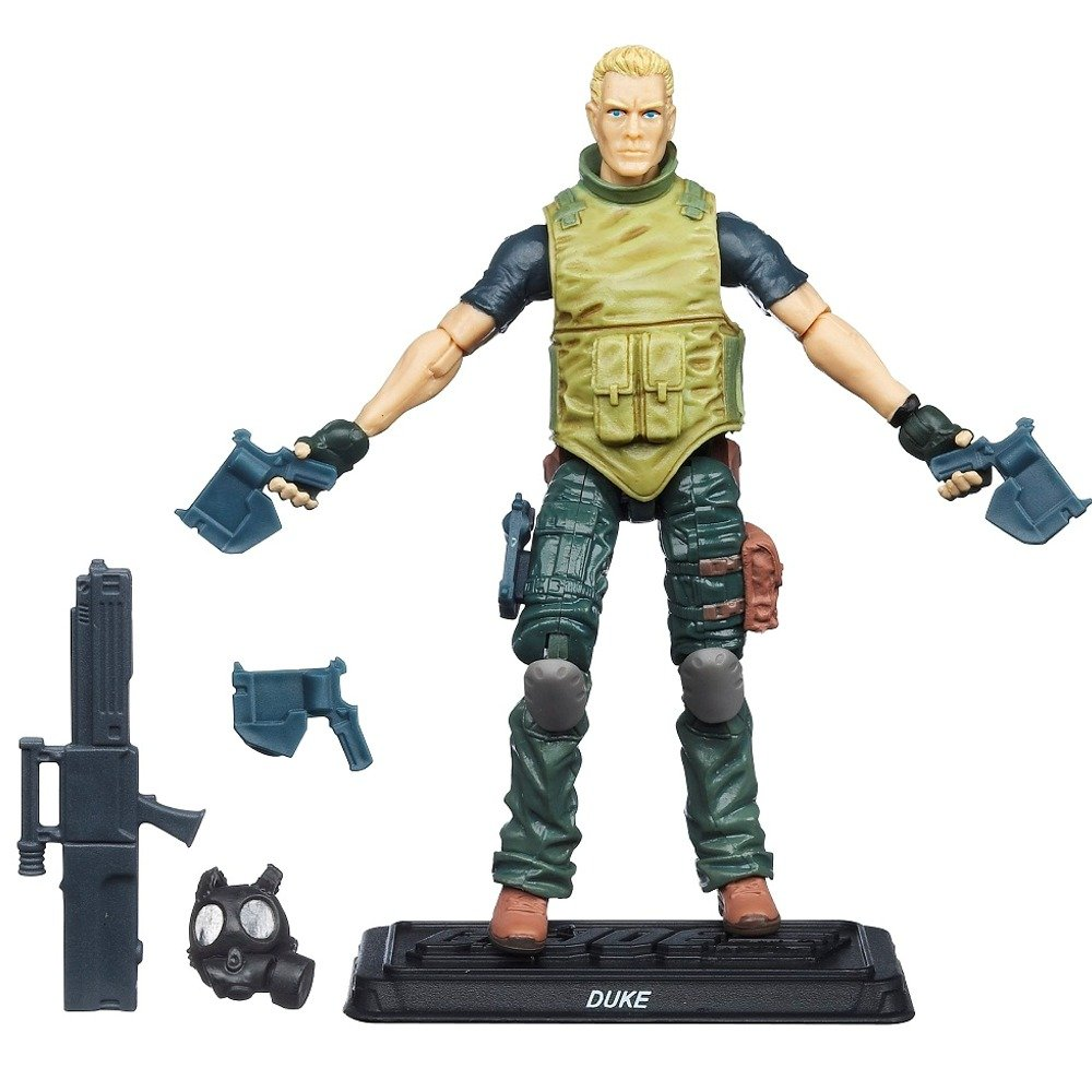 Amazon GI Joe 30th Anniversary 3 4 Inch Action Figure Duke Renegades By Hasbro Toys Games