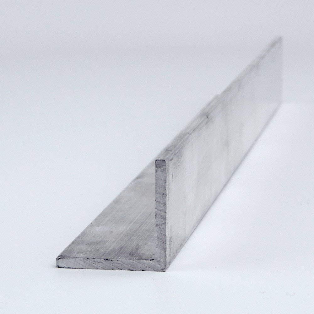 "1/"" x 1/"" x 1//8/"" x 36 inches 6063-T52 Aluminum Angle"