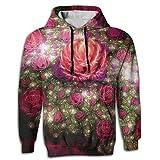 Best Bud Hoodies - K321dsh21 Sweatshirts Colorful Roses Buds Man Fashion Hoodie Review