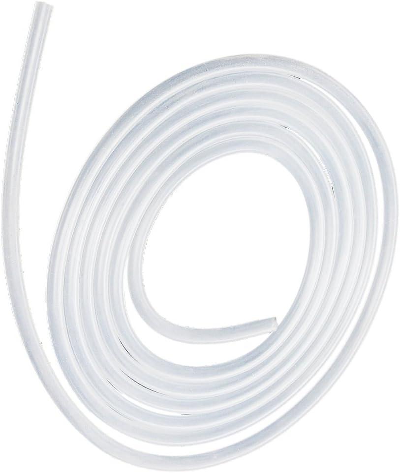 TOOGOO 2M Durchsichtige Lebensmittel Qualit?t Silikon Schlauch Milch Schlauch Leitung 3x5mm
