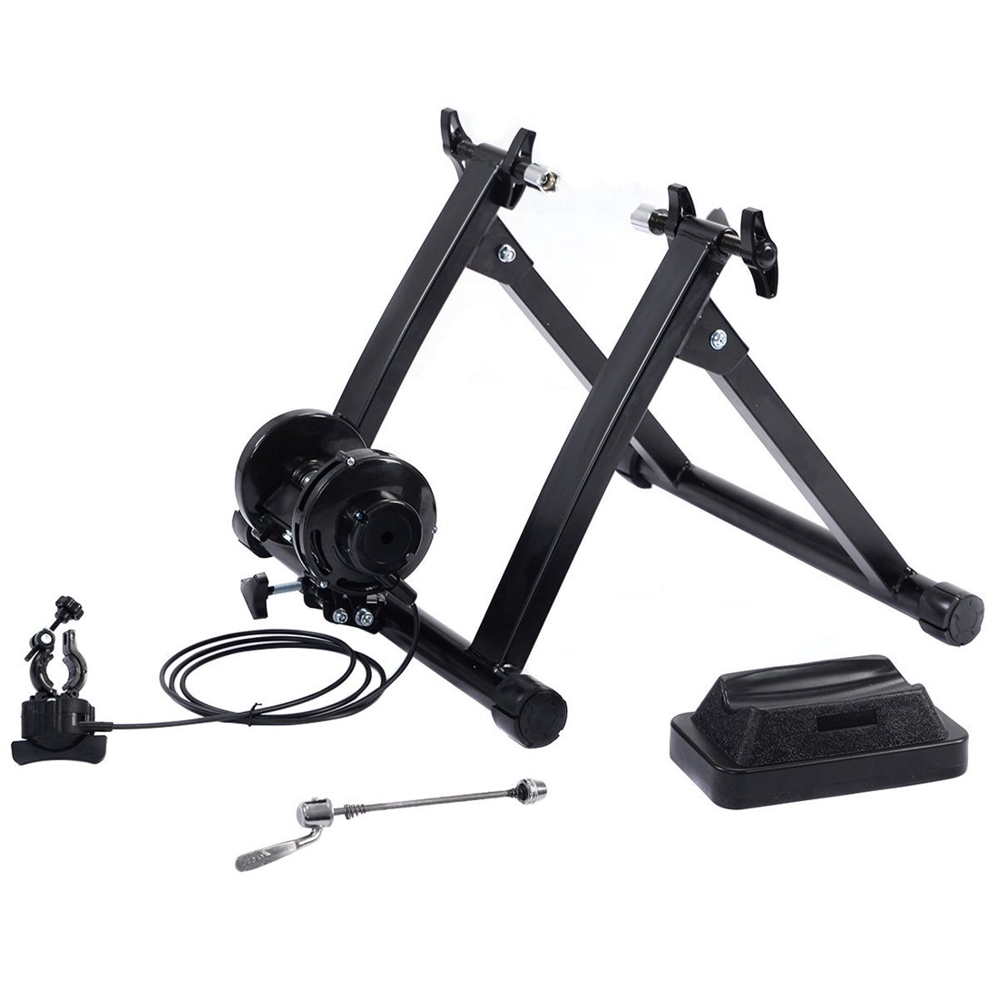 Magnetic Indoor Bicycle Bike Trainer Exercise Stand 5 levels of Resistance by thaiShop4all