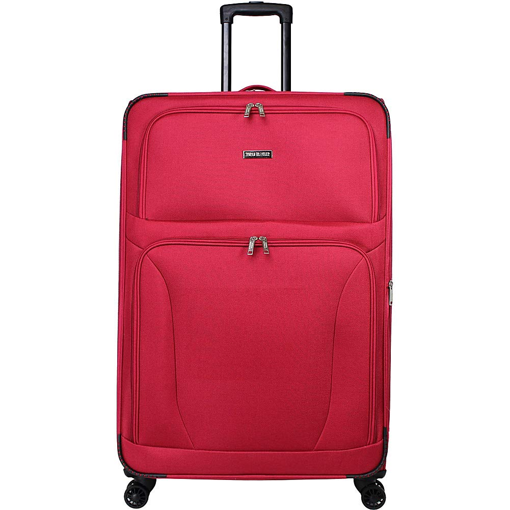 World Traveler スーツケース  レッド B07G1XHC2V