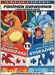 Buffalo Games - Pokemon Showdown: Charizard V. Gyarados - 1000 Piece Jigsaw Puzzle