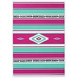 """¡Buenos Nachos! Baking Blanket by W&P Design, Nonstick Silicone Baking Sheet Liner, Pink, Dishwasher Safe, 11.5 x16.5"""" (Half-Sheet Pan)"""