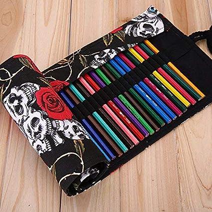 Creative Retro - Estuche para lápices (36 agujeros), diseño ...