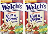 yogurt snacks - Welch's Strawberry Fruit'n Yogurt Snacks 8 Pouches (2 Pack - 16 Pouches Total)