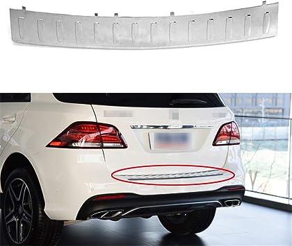 Front storage box guard Rear Bumper Plate Cover Trim for Tesla Model X 2016-2018
