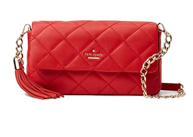 Amazon.com: Kate Spade New York Emerson Place Serena Quilted ... : kate spade red quilted bag - Adamdwight.com