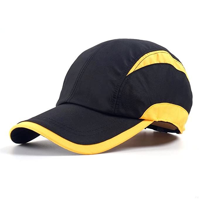 1fe4f6ed7e8 GADIEMENSS Quick Dry Sports Hat Lightweight Breathable Soft Outdoor Running  Cap (Classic Series