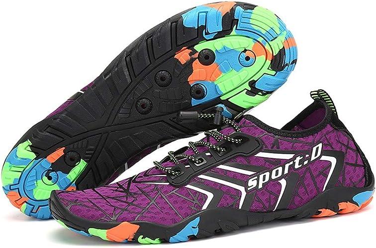 KUNAW - Zapatillas de agua para hombre y mujer, con pies anchos ...