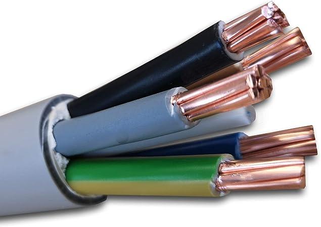 15 m 50 m C/âble gain/é NYM-J 3 x 2,5 mm2 - C/âble dinstallation 18 m etc. 25 m 20 m mm2 Exemple : 5 m Longueur au choix en 1 m/ètre 10 m