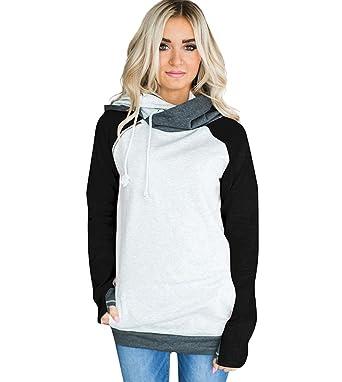 Sudaderas con Capucha Mujer Sudadera Ciervo Chica Hoodies Oversize Pullover Juveniles Camisas Camisetas Manga Larga Anchas Grandes Invierno Suéter Jersey ...