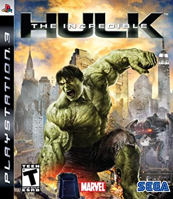 The Incredible Hulk PlayStation 3 Games at amazon