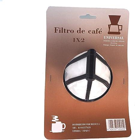 Sanfor Filtro Permanente para Cafetera tradicional americana 1x2 ...