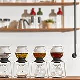 Hario Cube Drip Coffee Stand, Transparent Black