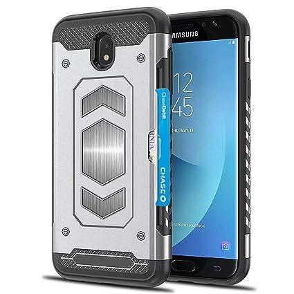 Amazon.com: Ranyi - Funda para Galaxy J7 Pro con soporte ...
