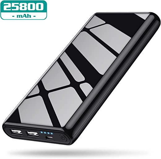 VOOE Power Bank 25800 mAh, Batteria Portatile Cellulare Caricabatterie Portatile...