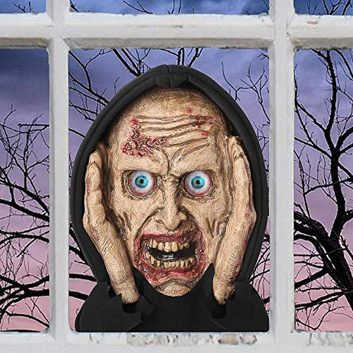 Forum Novelties, 79379 Scary Peeper Halloween Prop-Lenticular Eyed Zombie]()