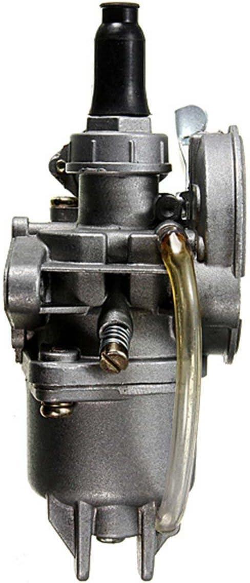 Pceewtyt 2 Stroke Engine Carburateur Carb pour Quad ATV Moto Pocket Dirt Bike 43CC 49CC