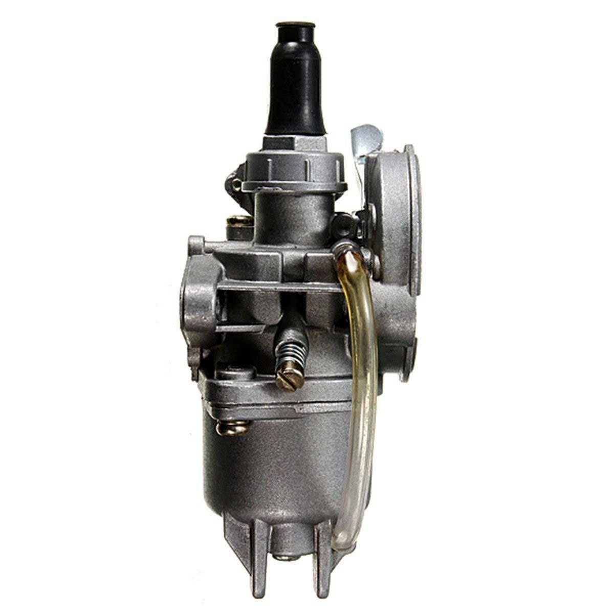 ACAMPTAR 2-Takt-Motor Vergaser Vergaser Fuer Quad ATV Motorrad Dirt Bike 43cc 49CC Taschen