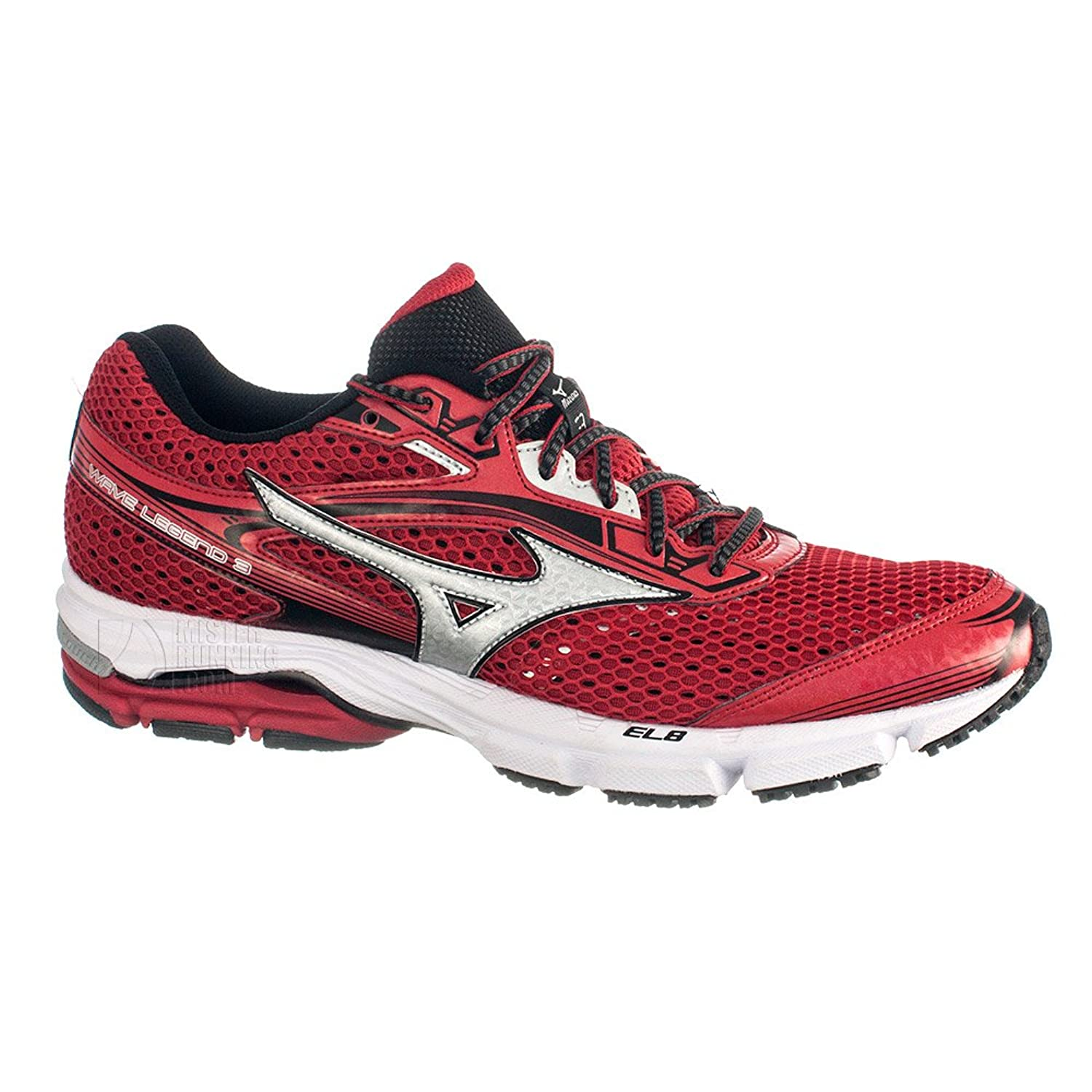 acba031f01 Mizuno Shoes Running Sneaker Men Wave Legend 3 Red Grey Size 11 hot sale  2017