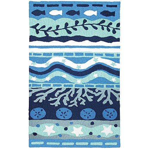 Blue Rug Outdoor Bay (Jellybean Blue Bay - 34