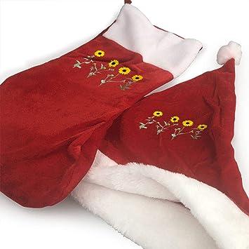 0f5be1c3677 Amazon.com  RobotDayUpUP Single Sunfloer 2PCS Hat+Socks Christmas ...