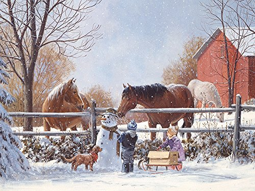 Cobble Hill Frosty's Friends 400 Piece Family Puzzle
