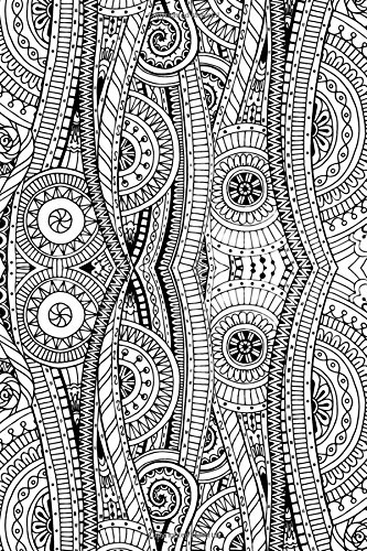 Floral Doodle Journal: Color the Cover Journal PDF