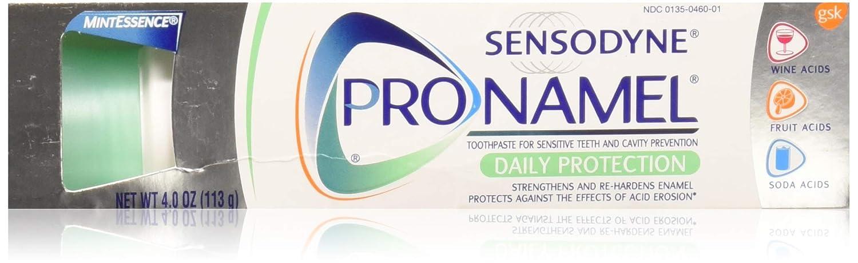 Sensodyne ProNamel Mint Essence Toothpaste, 4 oz