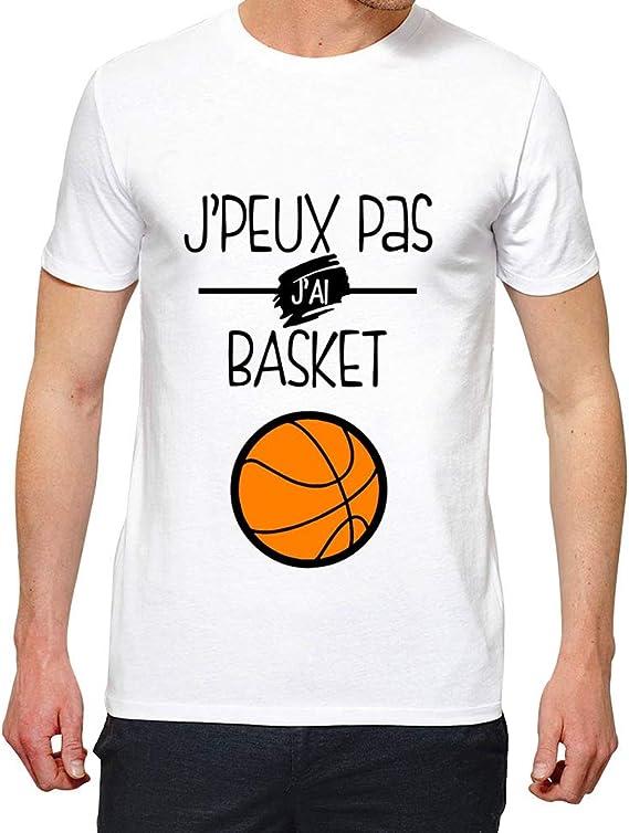 LookMyKase T-Shirt J Peux Pas j AI Basket B/éb/é Gar/çon