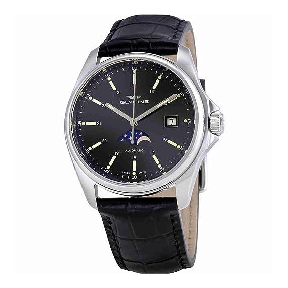 Glycine Combat Classic Moonphase relojes hombre GL0116: Amazon.es: Relojes